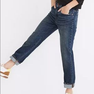 Madewell Tomboy Jeans